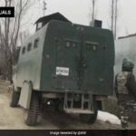 """Forces Lose 4 In Kashmir Encounter; """"Dead"""" Terrorist Fired, Say Sources"""