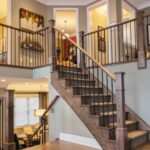 Custom Interior Wood Railings & Stairs Installation in Surrey