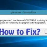 How to Fix MSVCP140.dll is Missing on Windows 10?