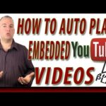 How to Autoplay Embedded YouTube Videos