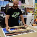 How to Mount a Photo Canvas Print