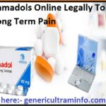 Buy Tramadols Online Legally To Cure Long Term Pain