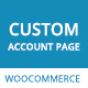 Customize My Account Page WooCommerce Plugin