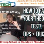 Driving learning school near me Blacktown